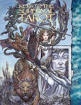 Mage Keys to the Supernal Tarot Major, McFarland, Matthew, Excellent Book