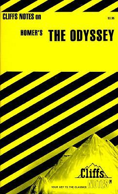 Homer's The Odyssey (Cliffs Notes) by Milch, Robert J.