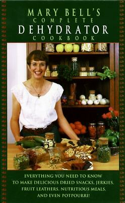 Mary Bell's Complete Dehydrator Cookbook, Mary Bell, Acceptable Book