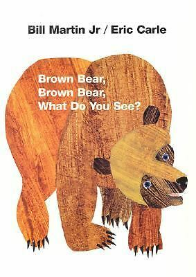 Brown Bear, Brown Bear, What Do You See?, Bill Martin Jr., Eric Carle, Acceptabl