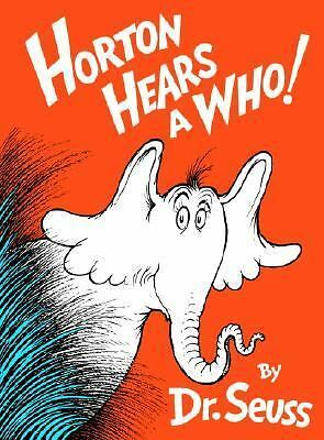 Horton Hears A Who!, Dr. Seuss, Acceptable Book