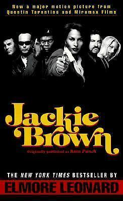 Jackie Brown by Elmore Leonard (1997, Paperback)