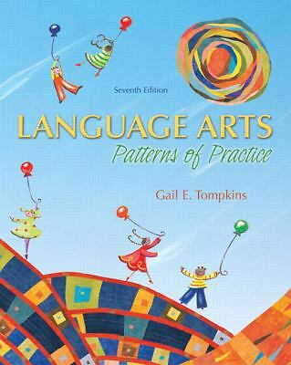 Language Arts: Patterns of Practice (7th Edition), Tompkins, Gail E., Good Book