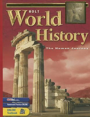 Holt World History:  Human Journey: Student Edition Grades 9-12 2003 by