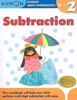 Grade 2 Subtraction (Kumon Math Workbooks) by Kumon Publishing