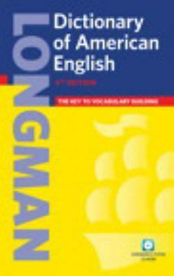 Longman Dictionary of American English, 4th Edition (paperback with CD-ROM) (4t