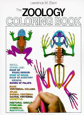 The Zoology Coloring Book by Elson, Lawrence M.