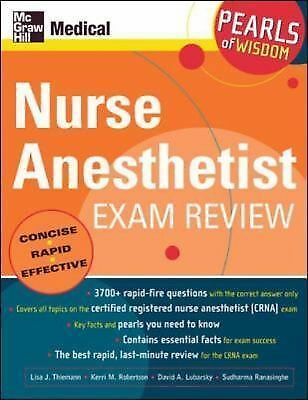 Nurse Anesthetist Exam Review: Pearls of Wisdom by
