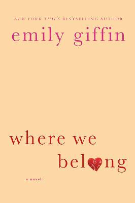 Where We Belong, Giffin, Emily, Good Book