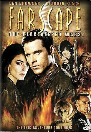 Farscape: The Peacekeeper Wars, Good DVD, Ben Browder, Claudia Black, Anthony Si