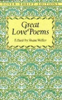 Great Love Poems (Dover Thrift Editions) by