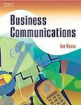 Business Communications, Thomas Means, Very Good Book