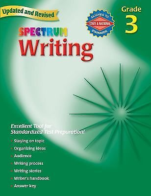 Writing, Grade 3 (Spectrum), , Good Book