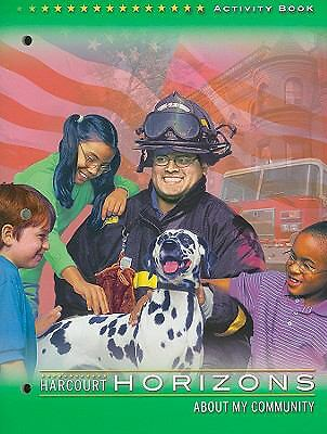 About My Community: Activity Book (Harcourt Horizons, Grade 2), No Author, Good