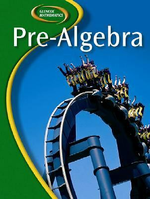 Glencoe Pre-Algebra, Student Edition (Glencoe Mathematics), McGraw-Hill, Good Bo