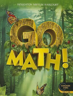 Go Math!: Student Edition Grade 1 2012, HOUGHTON MIFFLIN HARCOURT, Good Book