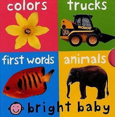 Bright Baby, 4 Copy Slipcase, Priddy, Roger, Good Book