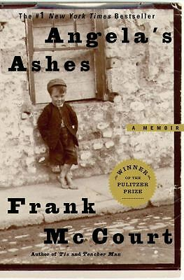 Angela's Ashes : A Memoir by Frank McCourt (1996, Hardcover) 1st Ed -