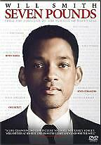 Seven Pounds, Good DVD, Will Smith, Rosario Dawson, Woody Harrelson, Michael Eal