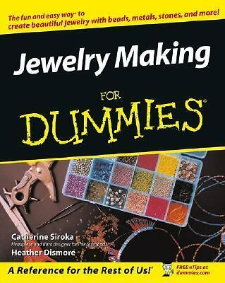 Jewelry Making & Beading For Dummies, Heather Dismore, Tammy Powley, Good Book