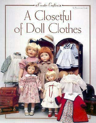 A Closetful of Doll Clothes (Creative Crafters), Ionker, Rosemarie, Good Book