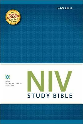 NIV Study Bible, Large Print by