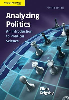 Cengage Advantage Books: Analyzing Politics, Grigsby, Ellen, Acceptable Book