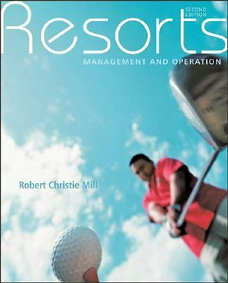 Resorts: Management and Operation, Mill, Robert Christie, Acceptable Book