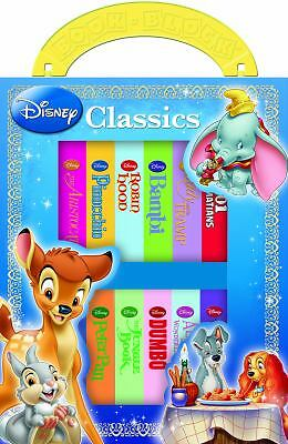 Disney Classics 12 Book Block by Editors of Publications International Ltd.