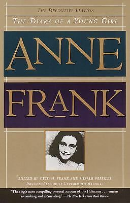 The Diary of a Young Girl, Anne Frank, Good Book