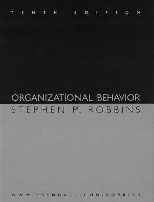 Organizational Behavior and Self-Assessment Library 2.0/2004 CD (10th Edition),