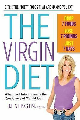 The Virgin Diet: Drop 7 Foods, Lose 7 Pounds, Just 7 Days, Virgin, JJ, Good Book