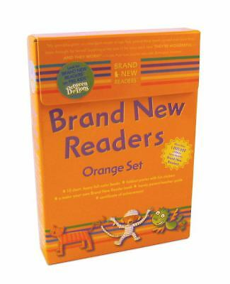 Brand New Readers: Orange Set (Cat and Mouse, Pizza, Dinah's Dream, Dinah Likes