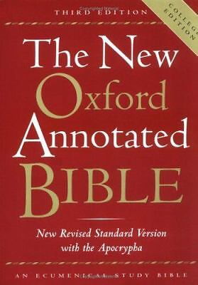 The New Oxford Annotated Bible with the Apocrypha, Third Edition, New Revised S