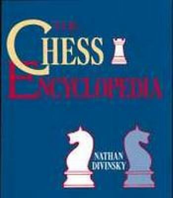 The Chess Encyclopedia, Nathan Divinsky, Good Book