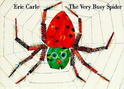 The Very Busy Spider (Board Book) by Eric Carle