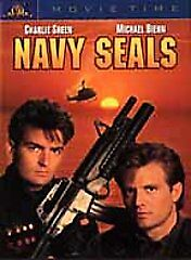 Navy Seals (DVD, 2001, Movie Time) Charlie Sheen Warlock Tigers Blood