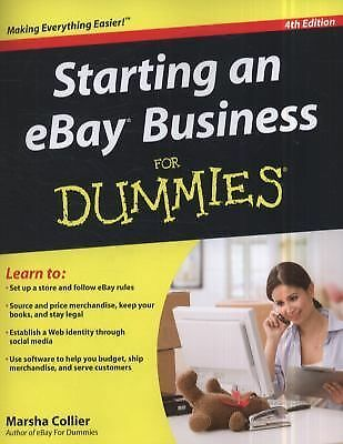 Starting an eBay Business For Dummies, Collier, Marsha, Good Book