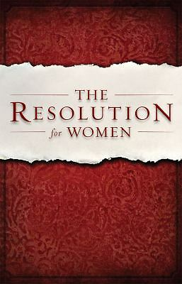 The Resolution for Women by Shirer, Priscilla