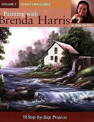 Painting with Brenda Harris, Volume 3 - Lovely Landscapes: 10 Step-by-Step Proje