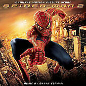 Columbia™ SPIDER-MAN 2 (Score) Original Soundtrack Album RARE VINTAGE CD