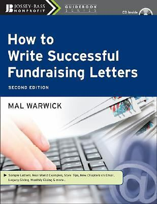 How to Write Successful Fundraising Letters, with CD by Warwick, Mal