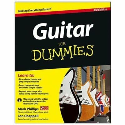Guitar For Dummies, with DVD by Phillips, Mark, Chappell, Jon