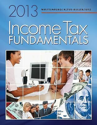 Income Tax Fundamentals 2013 (with H&R BLOCK At Home(TM) Tax Preparation Softwa