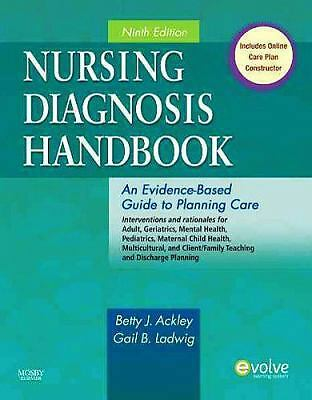Nursing Diagnosis Handbook: An Evidence-Based Guide to Planning Care, 9e, Gail B
