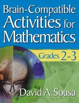 Brain-Compatible Activities for Mathematics, Grades 2-3, , Very Good Book