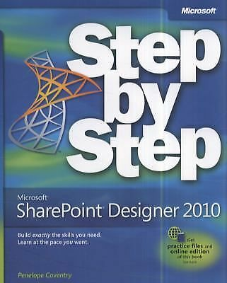 Microsoft SharePoint Designer 2010 Step by Step by Coventry, Penelope