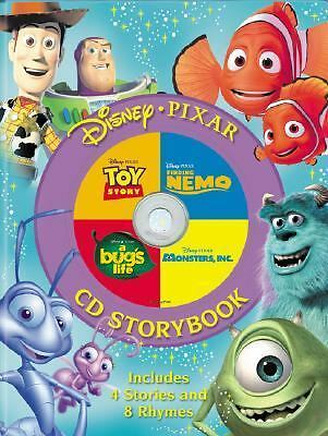 Disney, Pixar CD Storybook (4-In-1 Disney Audio CD Storybooks) by Disney