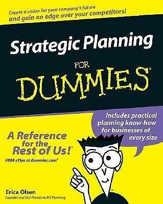 Strategic Planning For Dummies (For Dummies (Business & Personal Finance)), Eric