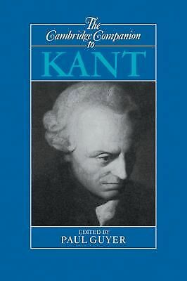 The Cambridge Companion to Kant (Cambridge Companions to Philosophy) by